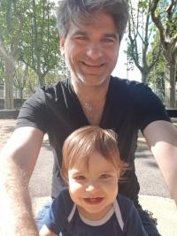 André Ortais et Albert en famille